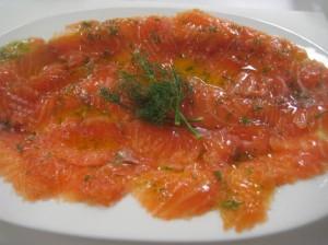 Como preparar salmon marinado