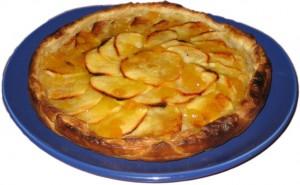 como preparar una tarta de manzana