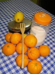 Ralladura limón y naranja