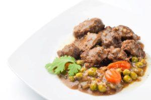 estofado de carne y verduras