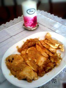 como hacer pollo al curry