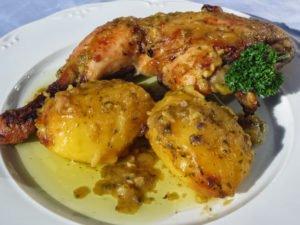 Asado de pollo