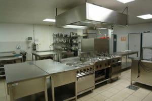 aspecto de una cocina industrial