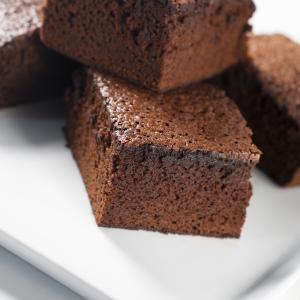 como hacer Brownies de caramelo de chocolate