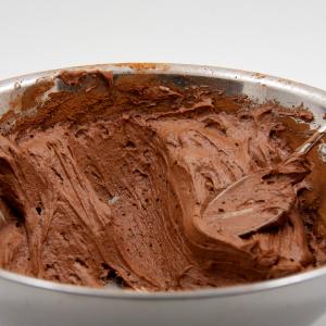 como hacer Escarcha de Chocolate