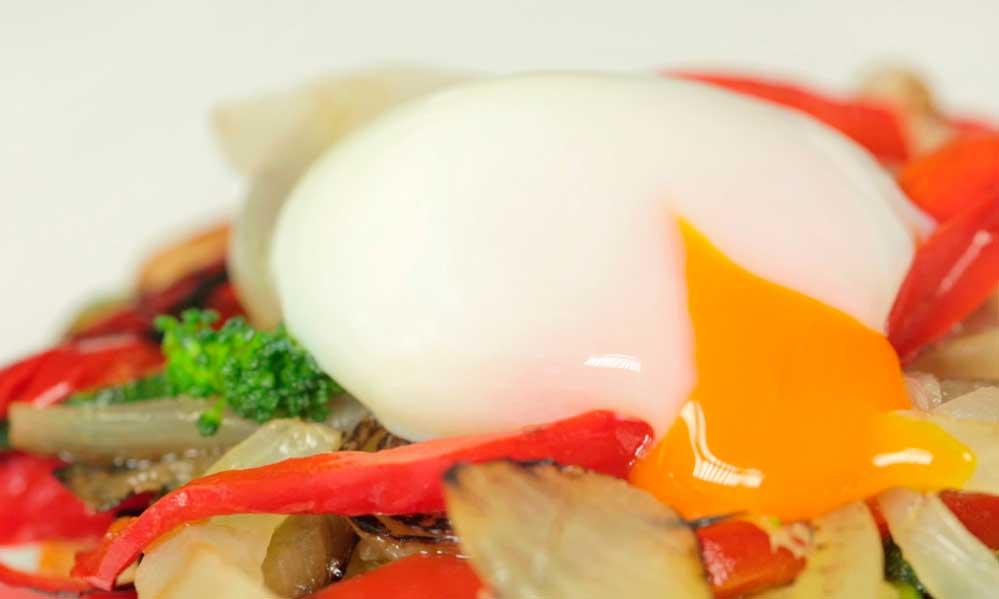 huevo a baja temperatura