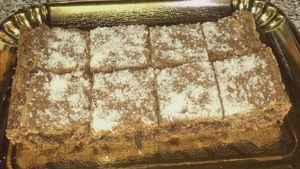 Como hacer Brownies de coco y chocolate