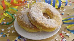Como hacer Rosquillas de Carnaval fritas
