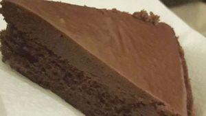 Como hacer Tarta suave con ganache oscuro