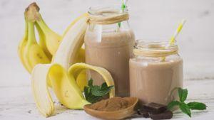 Como hacer Batido de proteínas de plátano y almendra