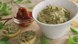 Como hacer Mousse de jamón y tomate seco