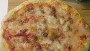 Como hacer Pizza larga con levadura
