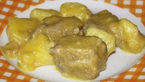 Como hacer Estofado con patatas y cúrcuma