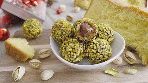 Como hacer Pandoro, crema y trufas de Nutella