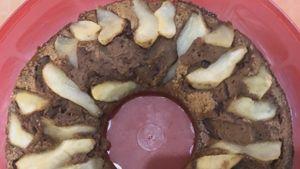Como hacer Pastel de chocolate y pera con queso ricotta