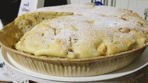 Como hacer Tarta de manzana y nuez